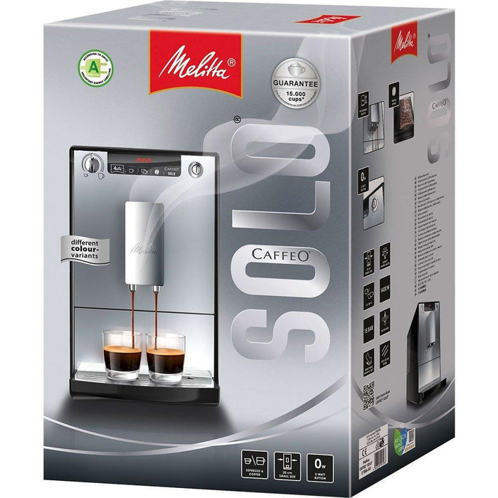 Melitta Solo Fully Automatic Bean to Cup Coffee Machine - Black-Bean-to-Cup Coffee Machines-Melitta-northXsouth