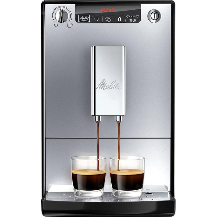 Melitta Solo Fully Automatic Bean to Cup Coffee Machine - Silver-Bean-to-Cup Coffee Machines-Melitta-northXsouth