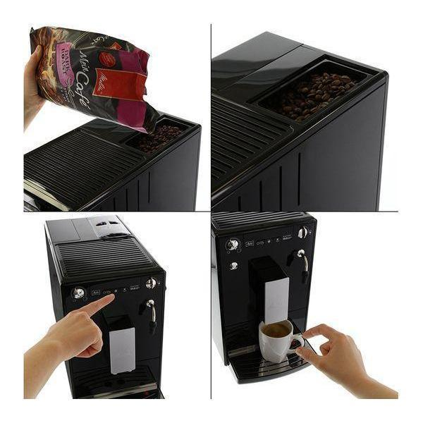 Melitta Solo & Perfect Milk, Bean to Cup Coffee Machine - Black-Bean-to-Cup Coffee Machines-Melitta-northXsouth