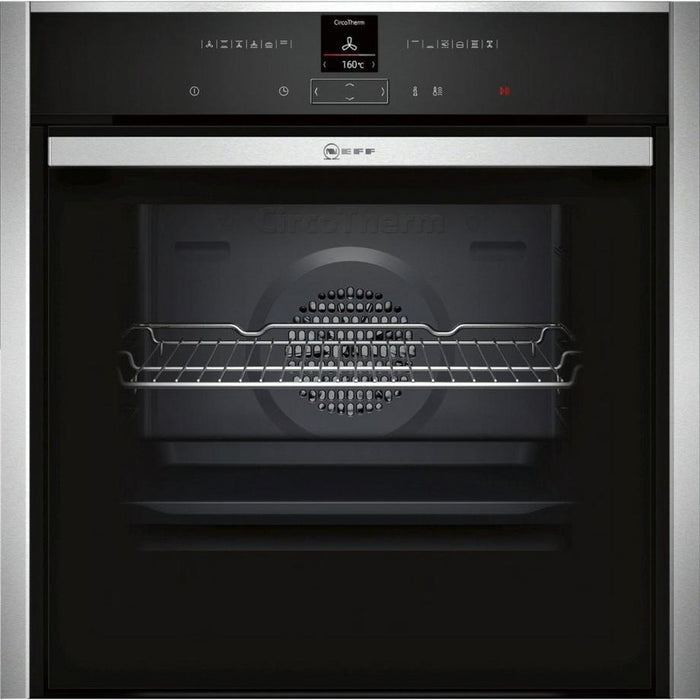 Neff B57CR23N0B 60cm Pyrolytic Single Oven with Slide & Hide-Single oven-Neff-northXsouth