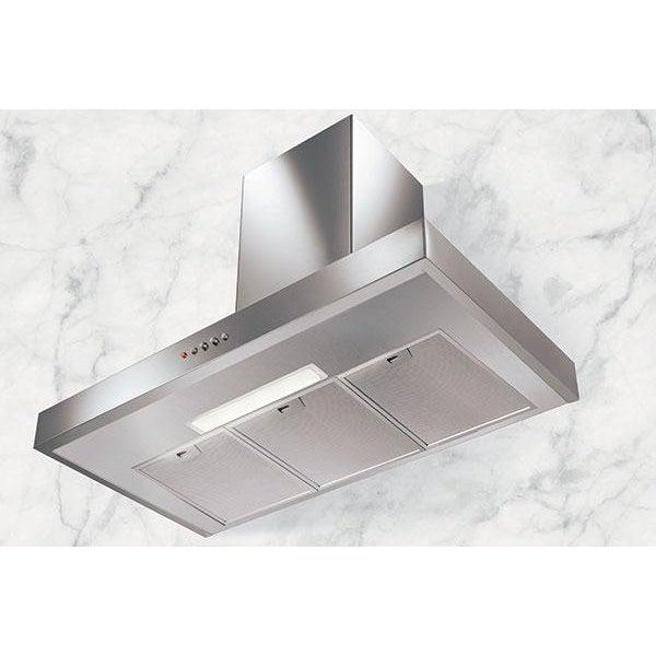 Nordmende CHBD604IX 60cm Stainless Steel Box Design Cooker Hood - T shape-Cooker Hood-Nordmende-northXsouth