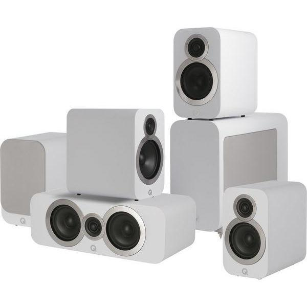 Q Acoustics 3010i Cinema Pack - Arctic White-Home Cinema Speakers-Q Acoustics-northXsouth