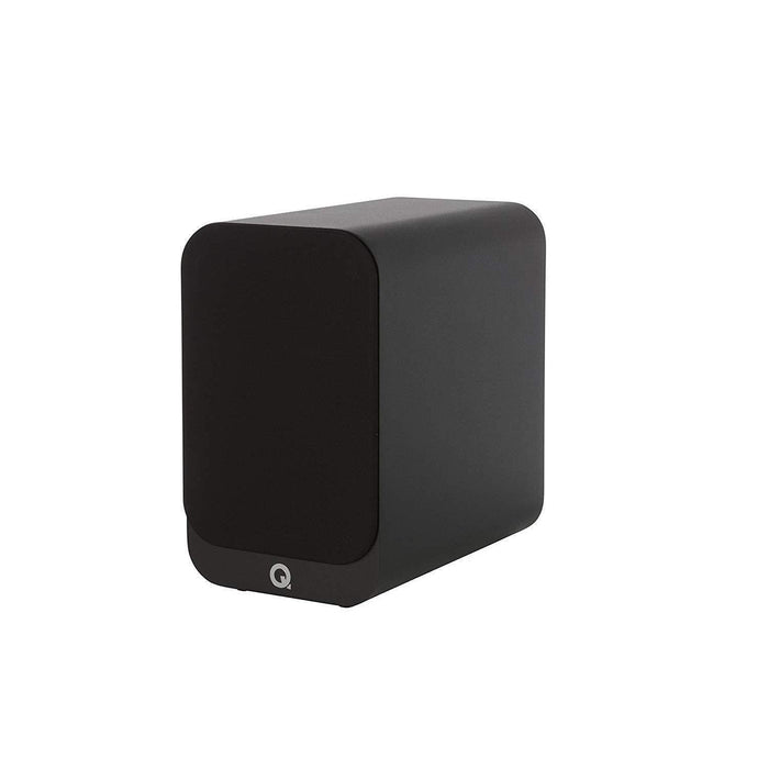 Q Acoustics 3020i Bookshelf Speaker Pair - Black-Bookshelf Speaker-Q Acoustics-northXsouth