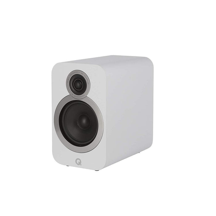 Q Acoustics 3020i Bookshelf Speaker Pair - White-Bookshelf Speaker-Q Acoustics-northXsouth