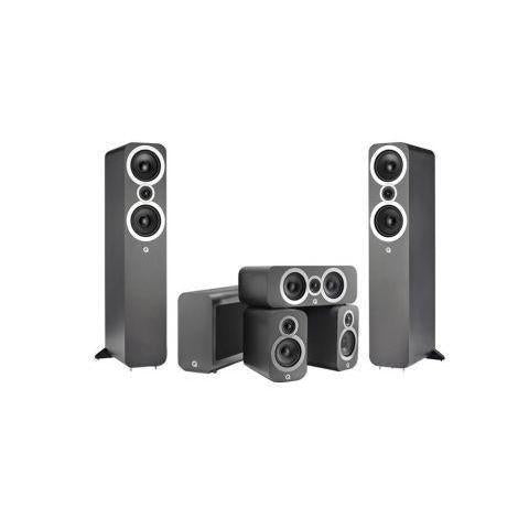 Q Acoustics 3050i Cinema Pack - Graphite Grey-Home Cinema Speakers-Q Acoustics-northXsouth