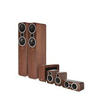 Q Acoustics 3050i Cinema Pack - Walnut-Home Cinema Speakers-Q Acoustics-northXsouth