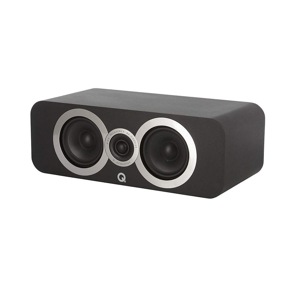 Q-Acoustics 3090Ci Centre Speaker - Black-Centre Speaker-Q Acoustics-northXsouth