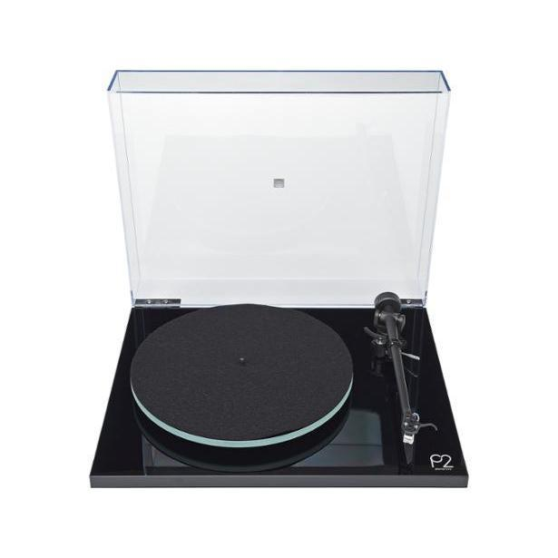 Rega Planar 2 Turntable / Vinyl Record Player - Black-Turntable-Rega-northXsouth