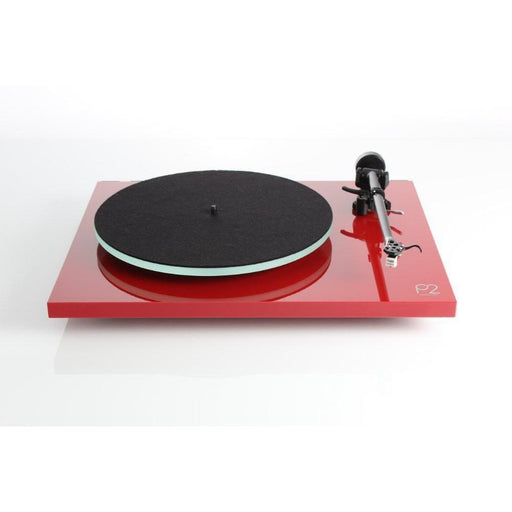 Rega Planar 2 Turntable / Vinyl Record Player - Red-Turntable-Rega-northXsouth