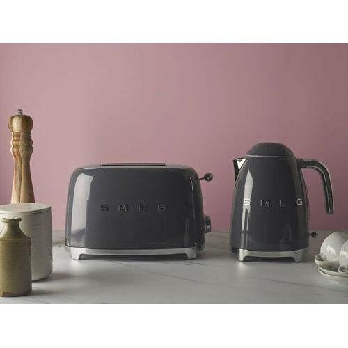 Smeg TSF02PGUK KLF03PGUK 4 Slice Toaster & Kettle Set Green