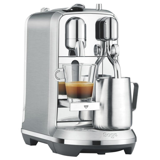 Sage Creatista Plus Nespresso Pod Coffee Machine - Silver / Steel-Nespresso Coffee Machine-Sage-northXsouth