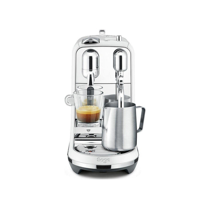 Sage Creatista Plus Nespresso Pod Coffee Machine - White Sea Salt-Nespresso Coffee Machine-Sage-northXsouth