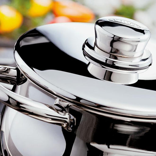 Stellar 1000 S1F4B 5 Piece Deep Saucepan Set with Lids, Induction Ready-Pan Sets-STELLAR-northXsouth