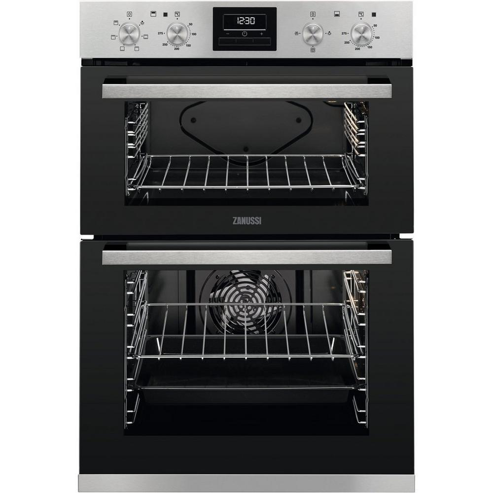 Zanussi ZOA35660XK Built In Electric Double Oven - Stainless Steel-Double oven-Zanussi-northXsouth