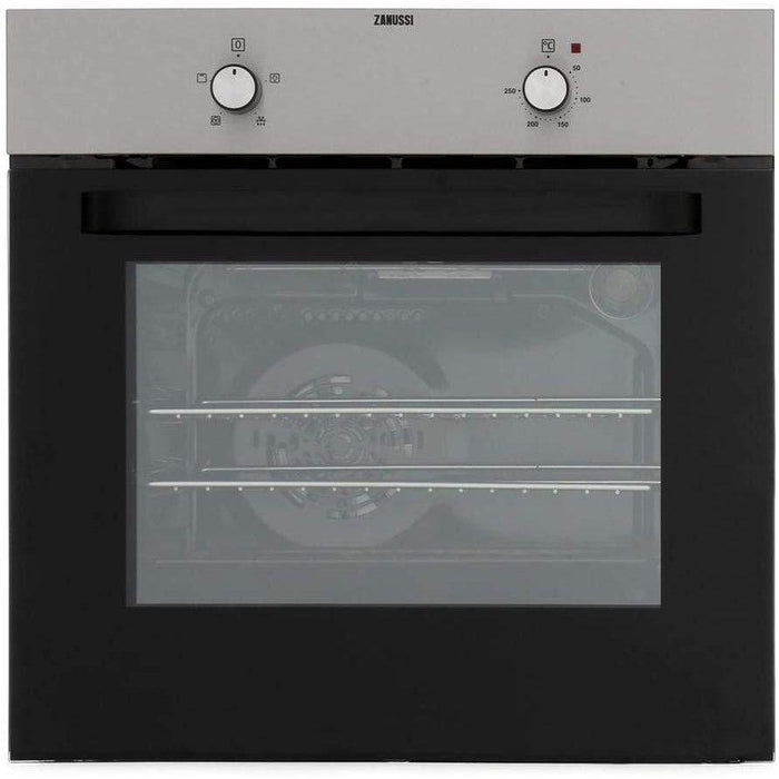 Zanussi ZZB30401XK 600mm Built-in Electric Single Oven Stainless Steel-Single oven-Zanussi-northXsouth