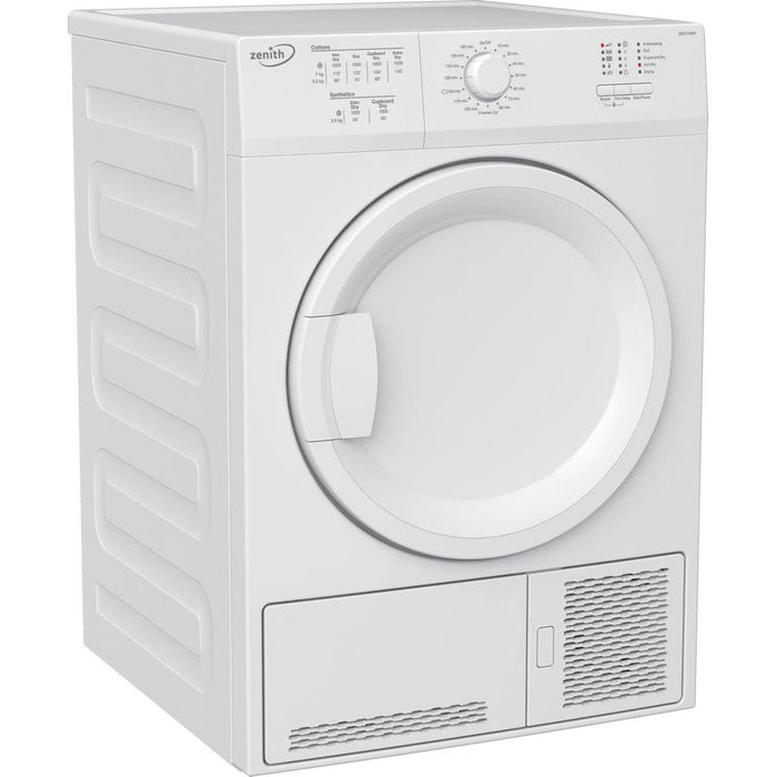 Zenith ZDCT700W 7kg Condenser Tumble Dryer - White-Tumble Dryer Condenser-Zenith-northXsouth