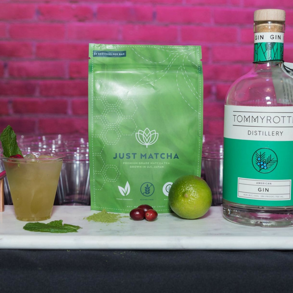 The Gin Mint Matcha Cocktail