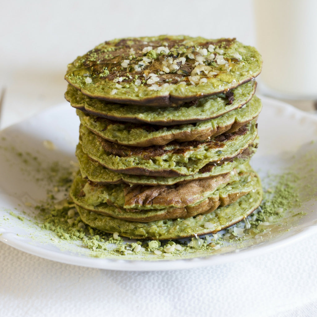 Matcha Culinary Pancake Recipe