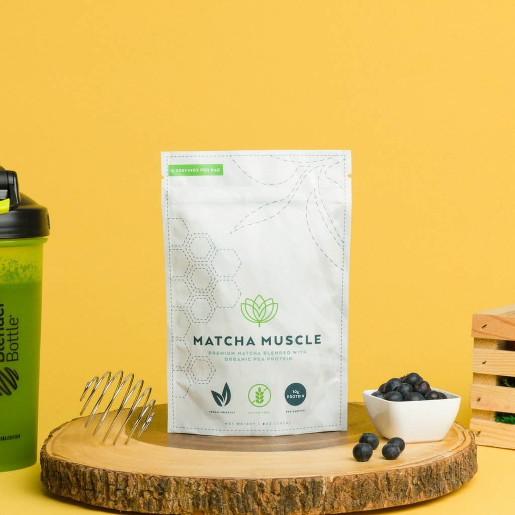 Matcha Muscle Original + Pea Protein