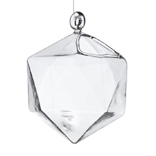 Bauble Hanging Glass, Small (Sold in Sets of 4) - PoppyandPeaches.com - Accent Decor