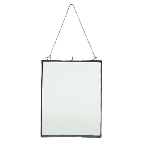 Hanging Metal Frame - Two Sizes - PoppyandPeaches.com - Accent Decor