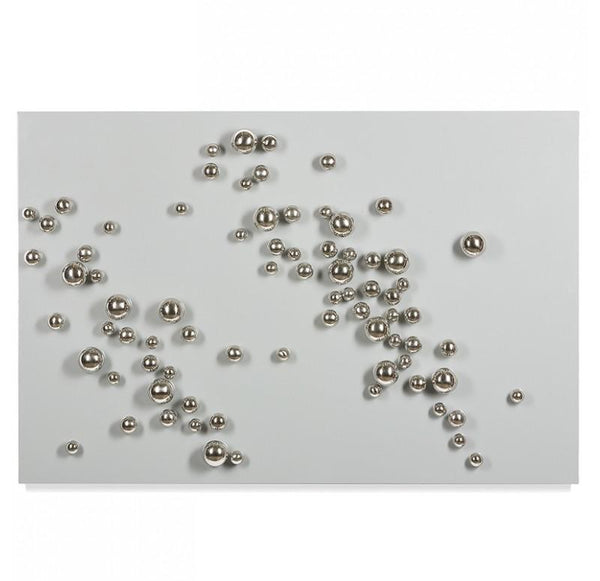 Orb Wall Play, Stainless Steel (Set of 10) - PoppyandPeaches.com - Gold Leaf Design Group