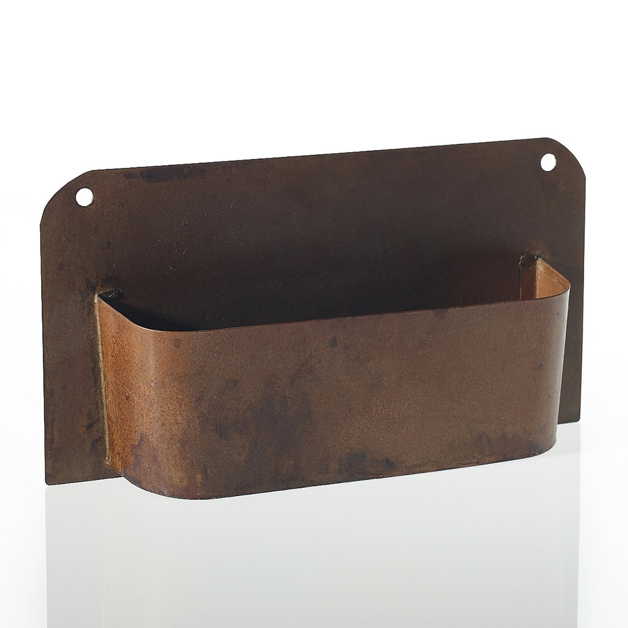 Rusted Metal Wall Planter - Two Sizes - PoppyandPeaches.com - Accent Decor