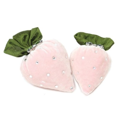 Silk Velvet Strawberries ~ Blush - PoppyandPeaches.com - Hot Skwash