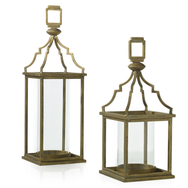 Tranquil Lantern - Two Sizes - PoppyandPeaches.com - Accent Decor
