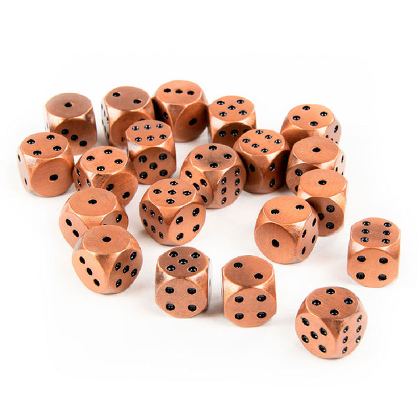 Rounded Metal 12mm D6 Dice
