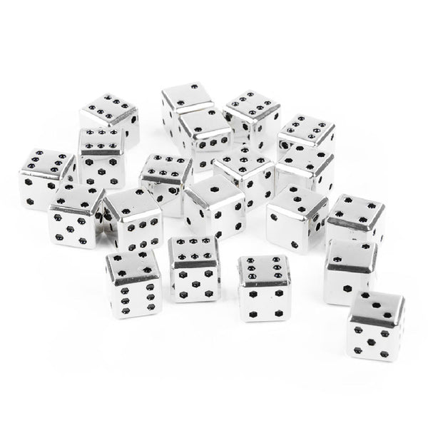 Square Metal 12mm D6 Dice