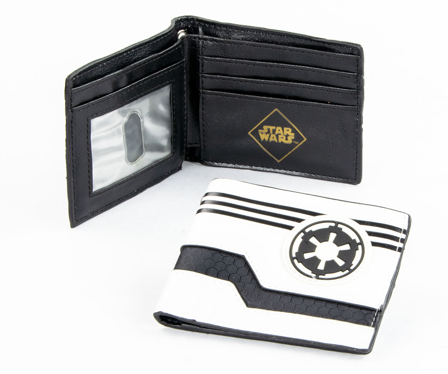 Trooper White Wallet