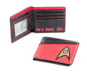 Red Trek Wallet