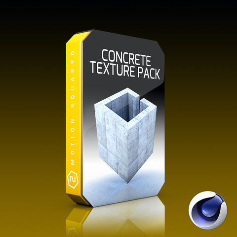 cineme 4d concrete texture pack