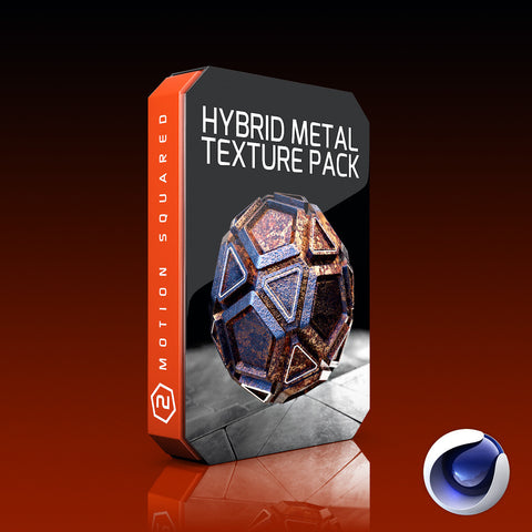 cinema 4d hybrid metal texture pack