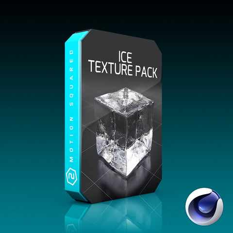 Cinema 4D Ice Texture Pack