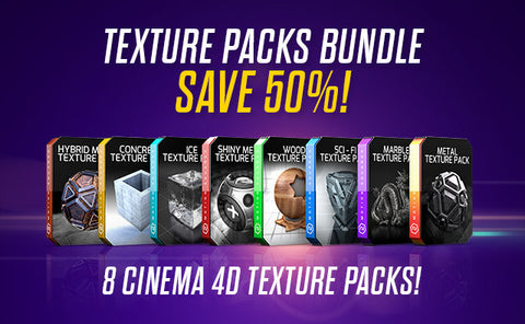 Cinema 4D Textures Bundle