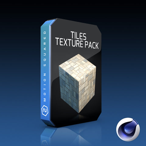 Cinema 4D - Tiles Texture Pack
