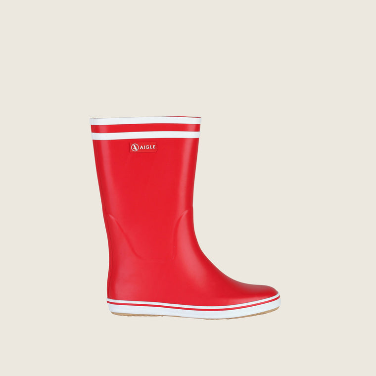 Red/White Malouine Rain Boots