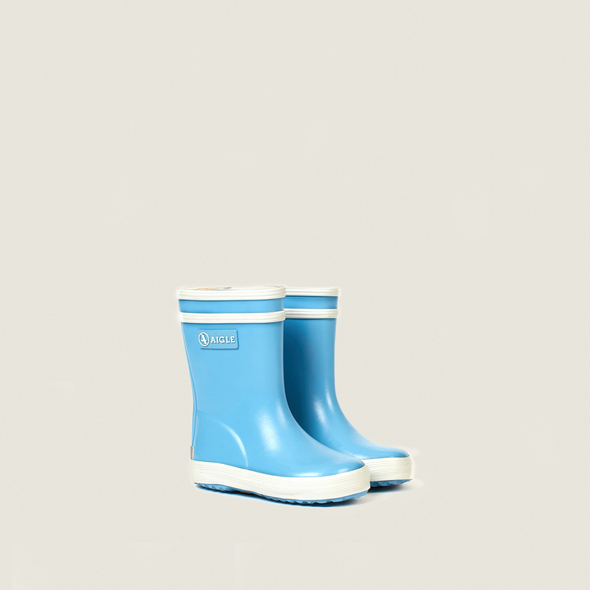 Aigle Sky Blue Baby Flac Rubber Boots