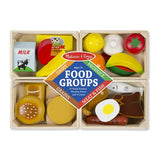 Food groups - Wooden play food - Crunch Natural Parenting is where to buy