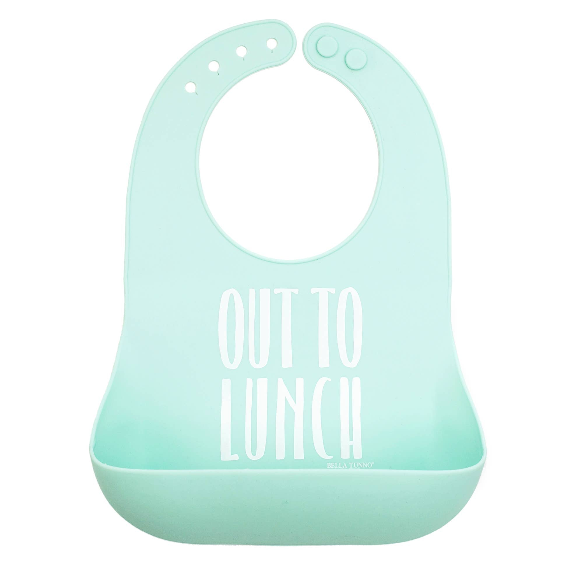 Wonder Bib - Out to Lunch - Crunch Natural Parenting is where to buy