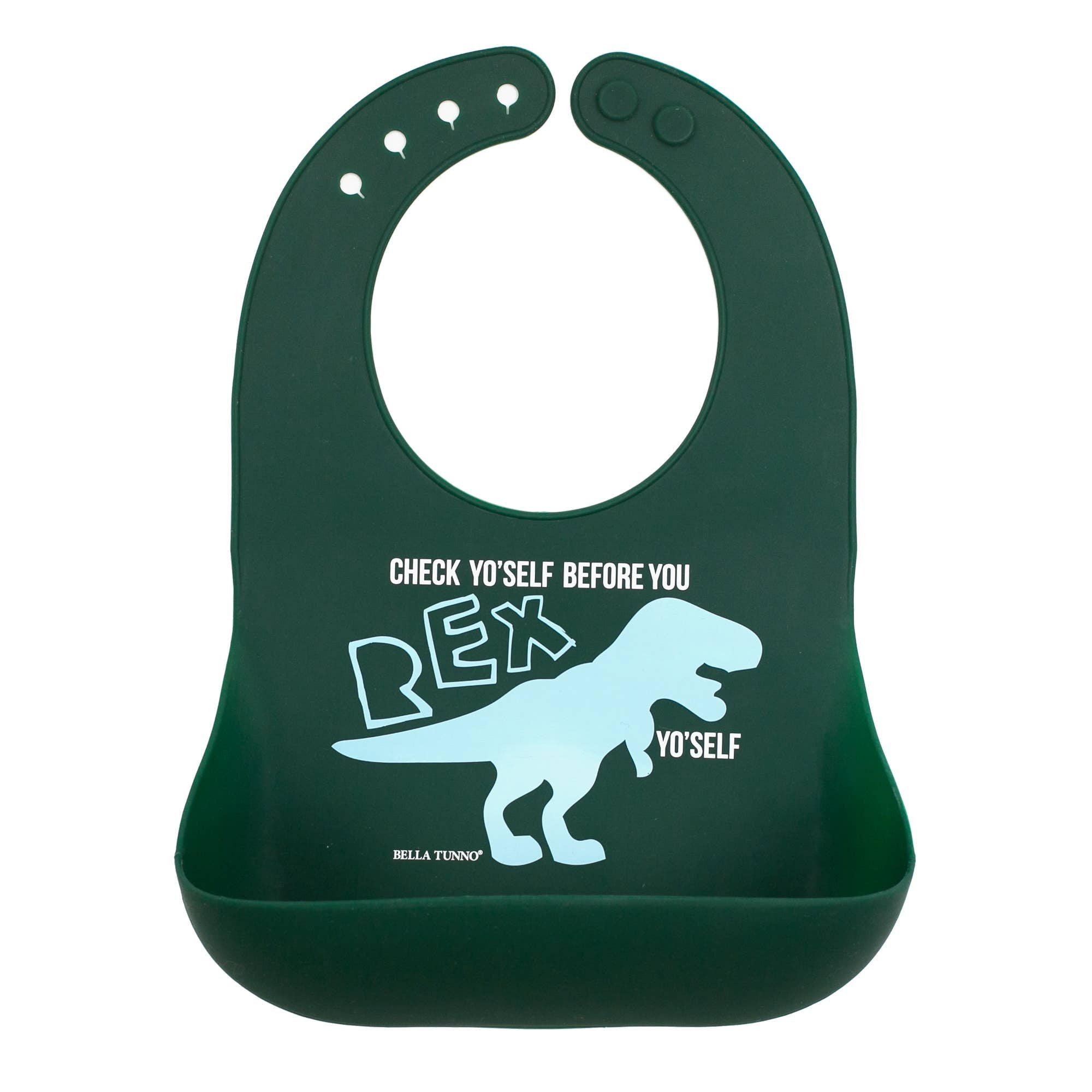 Wonder Bib - T Rex Yo Self - Crunch Natural Parenting is where to buy