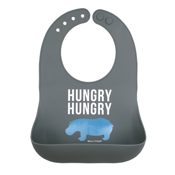 Wonder Bib - Hungry Hungry Hippo - Crunch Natural Parenting is where to buy