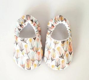 Feather Baby Moccs, by Weepereas - Crunch Natural Parenting is where to buy