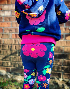 Doodle Pants  Flower Leggings - Crunch Natural Parenting is where to buy
