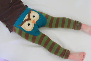 Doodle Pants Woodland Owl Leggings - Crunch Natural Parenting is where to buy