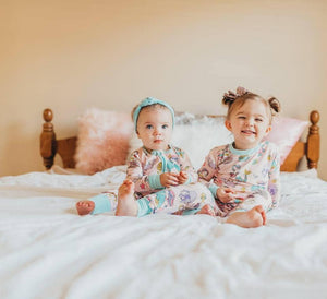 Little Sleepies - Mermaids convertible romper/sleeper - Crunch Natural Parenting is where to buy