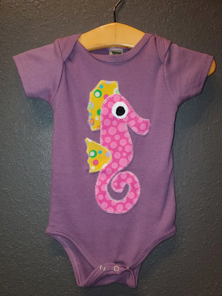 Seahorse Onesie - Crunch Natural Parenting is where to buy