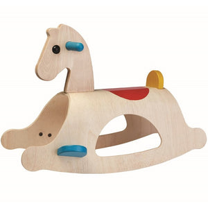 PlanToys Palomino Rocking Horse - Crunch Natural Parenting is where to buy